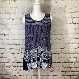 🦋 Siren Lily Sleeveless Blouse Size 2x
